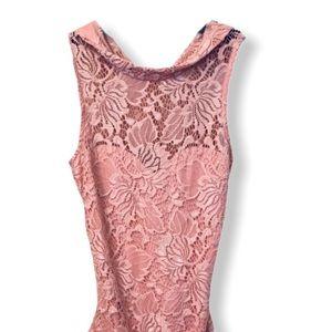 Material Girl XS rose bodysuit
